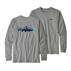 M's L/S Fitz Roy Trout Responsibili-Tee