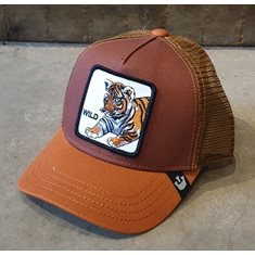 Wild Tiger kids cap
