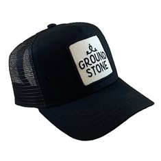 Groundstone Logo Trucker