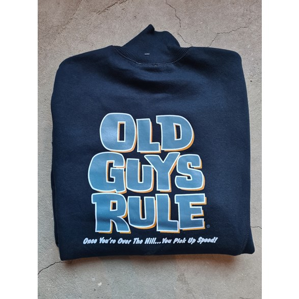 OLD GUYS RULE- OVER THE HILL