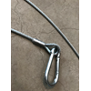 Towing cable for snowmobile